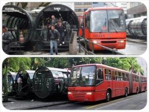 מערכת תחבורה פשוטה ויעילה מסוג BRT בקוריטיבה, ברזיל