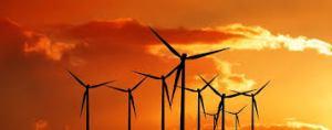 אחת הדרכים לנצל אנרגיית רוח להפקת חשמל היא טורבינות כמו אלה. יש דרכים נוספות ומקוריות כמו ארובת שרב או Wind Belt